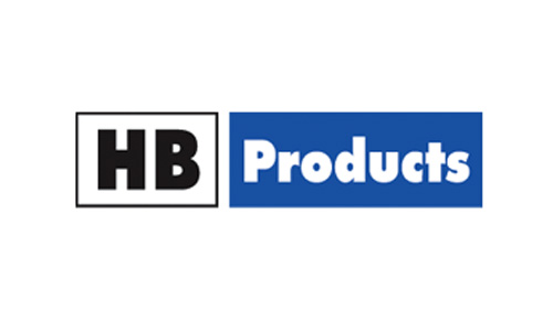 HB PRODUCTS logo